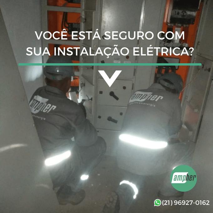 Qual a hora de fazer uma manutenção no quadro de energia?
