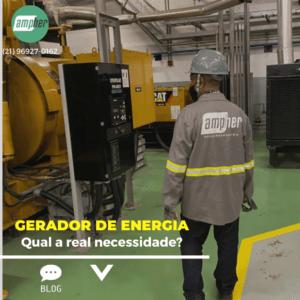 Qual a importância dos geradores de energia
